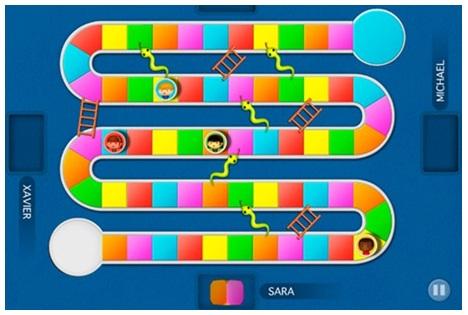 Actividades para los alumnos nuevas tecnolog as en la for Escaleras y serpientes imprimir